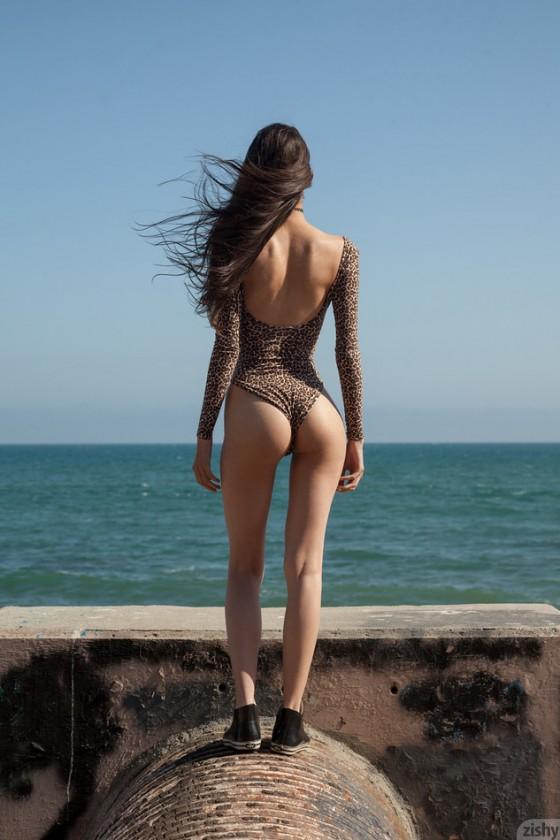 Inez Saldero On Pee Sea Atche - 4