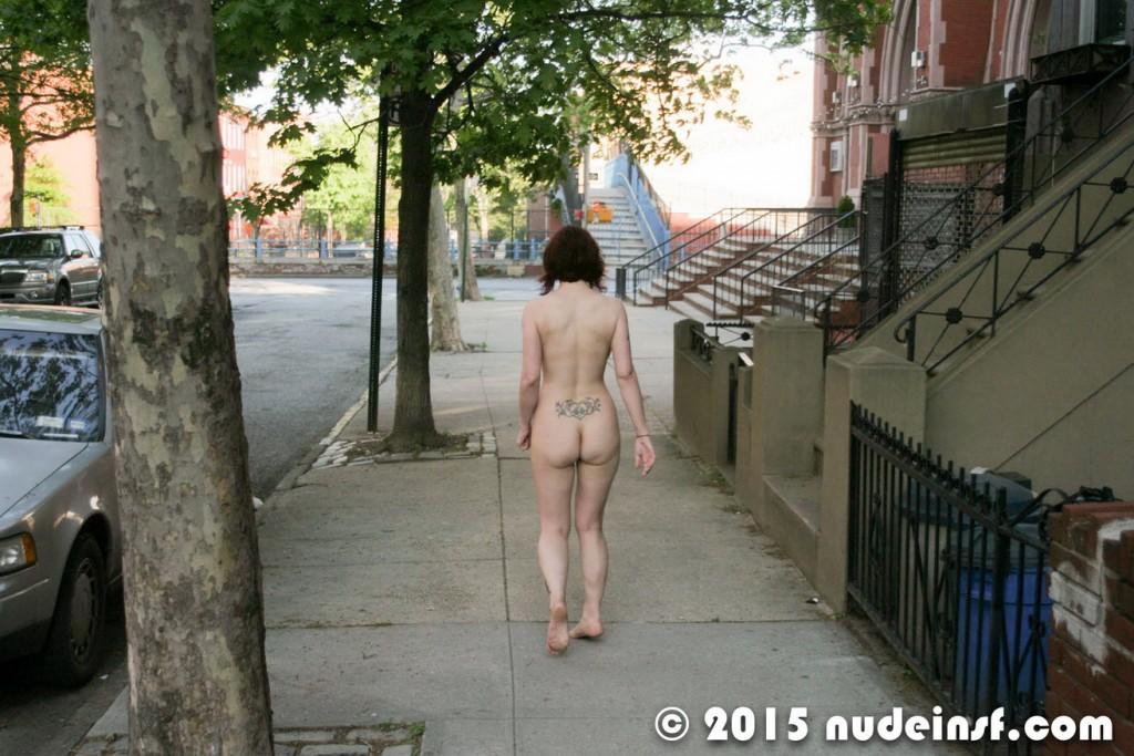 Around house naked