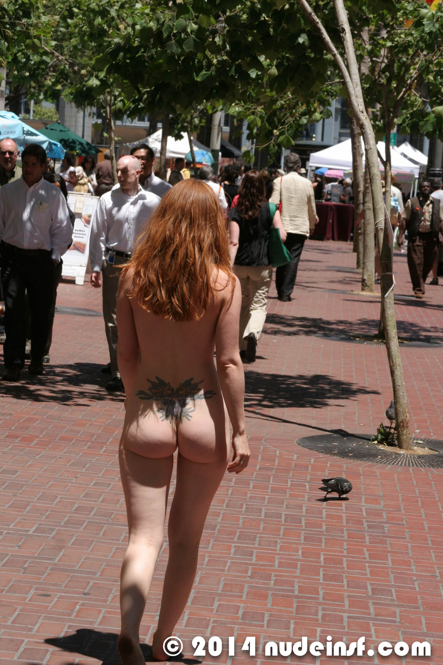 Amber Dawn Nude nude in san francisco: exhibitionist amber naked at street