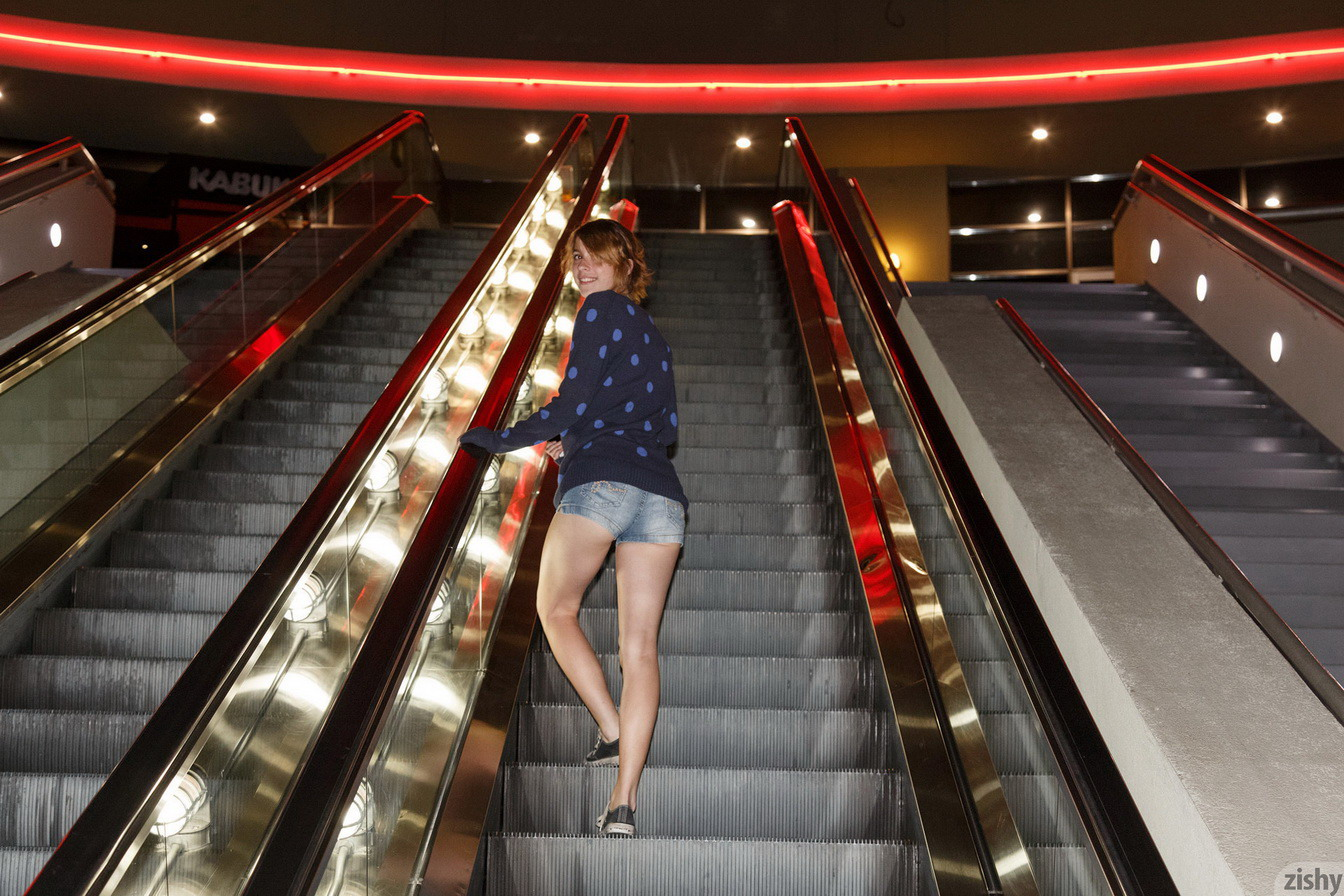 Shopping Mall  Nude In Public-5650